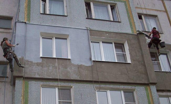 Фасадное утепление стен Nass-Front (мокрый фасад). Фото 4.